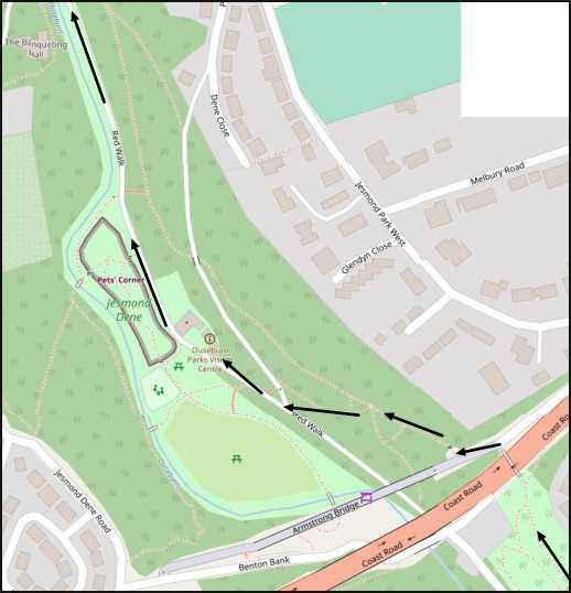 Jesmond, Ouseburn & Town Moor Cycle