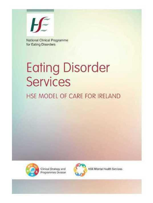 HSE Model of Care for Eating Disorder Services