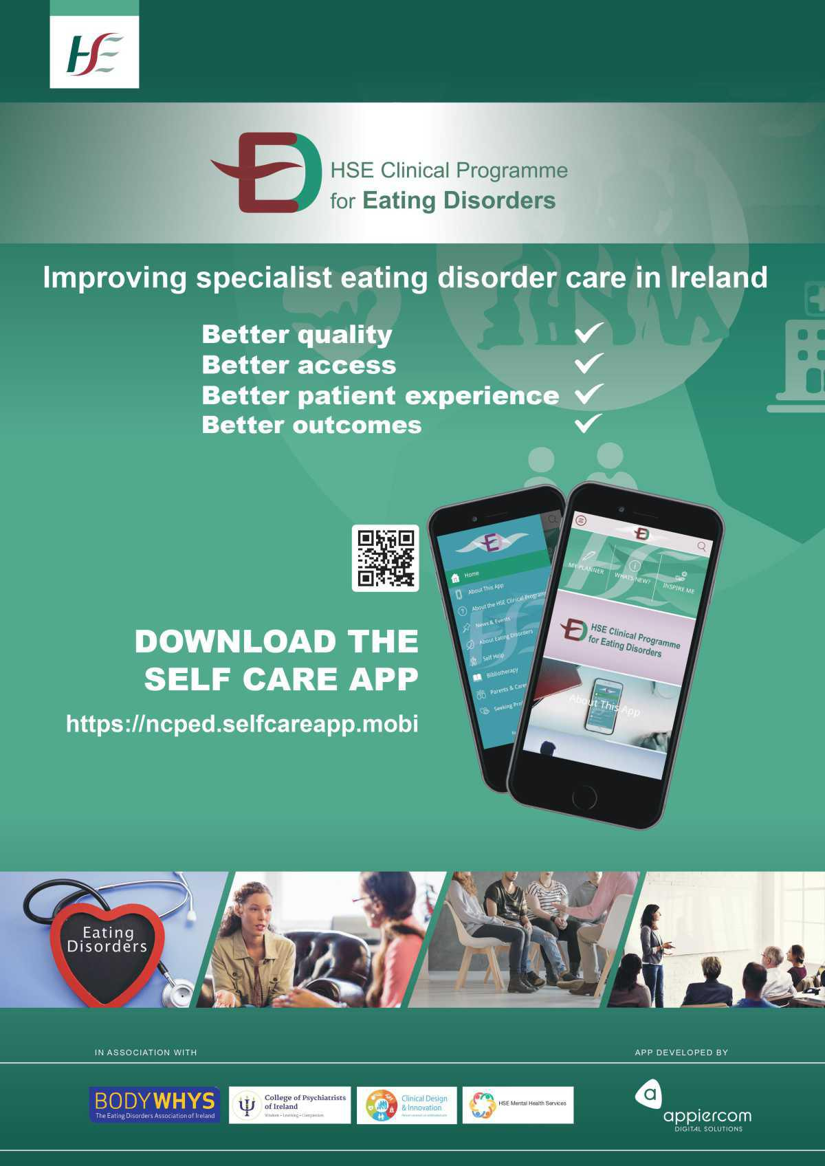 NCPED App Poster