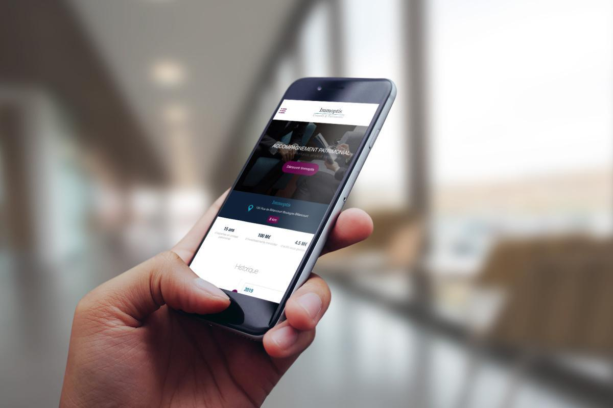 Lancement de la Progressive Web App d'IMMOPTIS