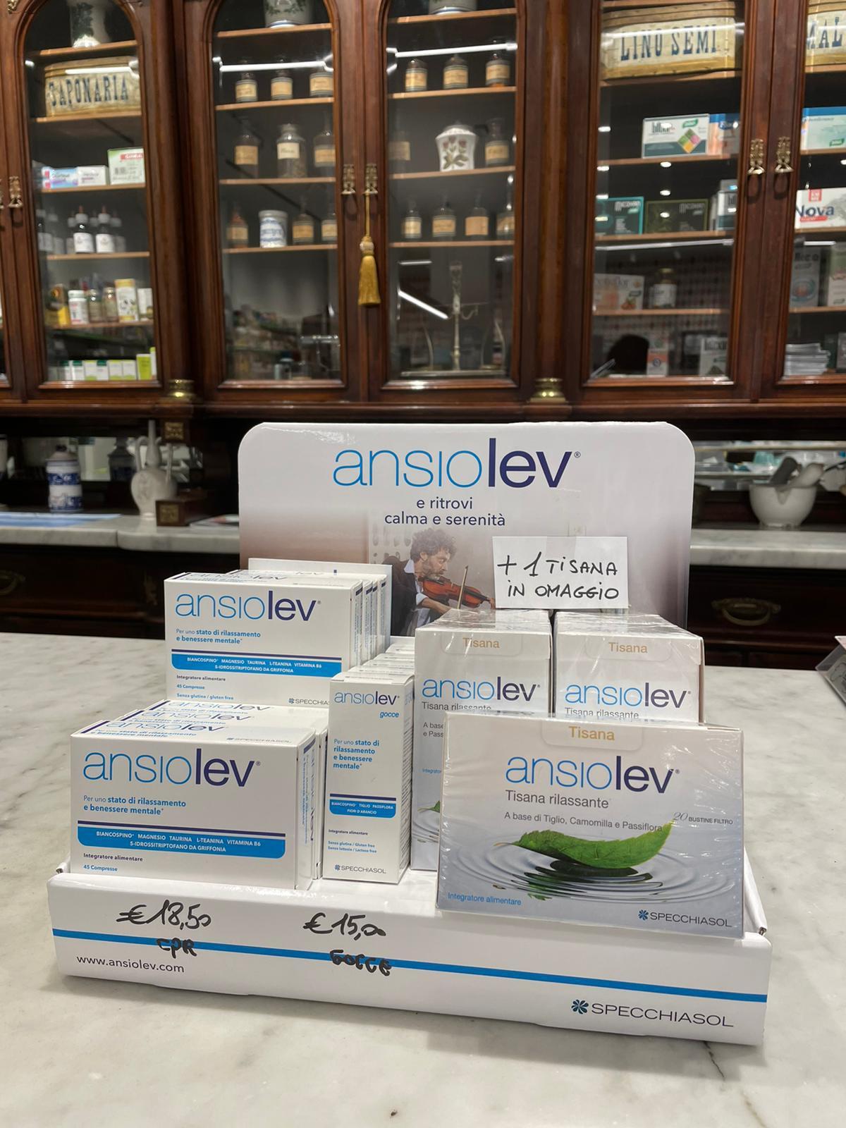 Ansiolev, per ritrovare calma e serenità.