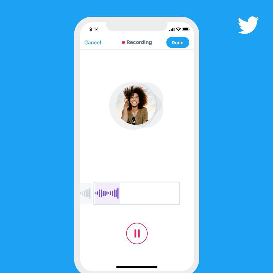 Twitter to roll out Voice Note Feature!