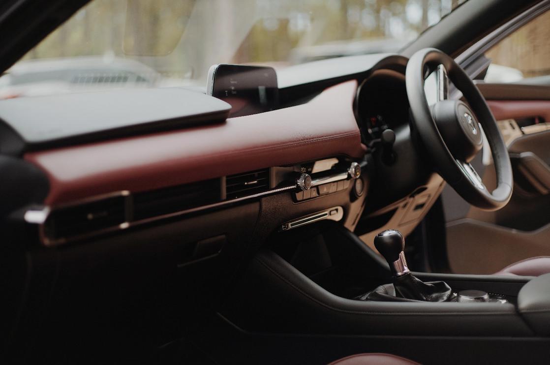 Reba on the new Mazda 3