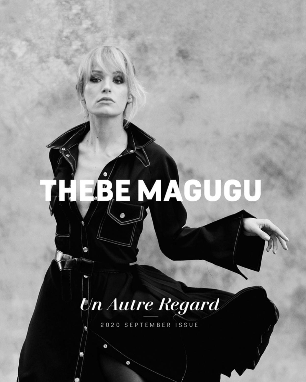 Thebe Magugu x DS x E-Tense