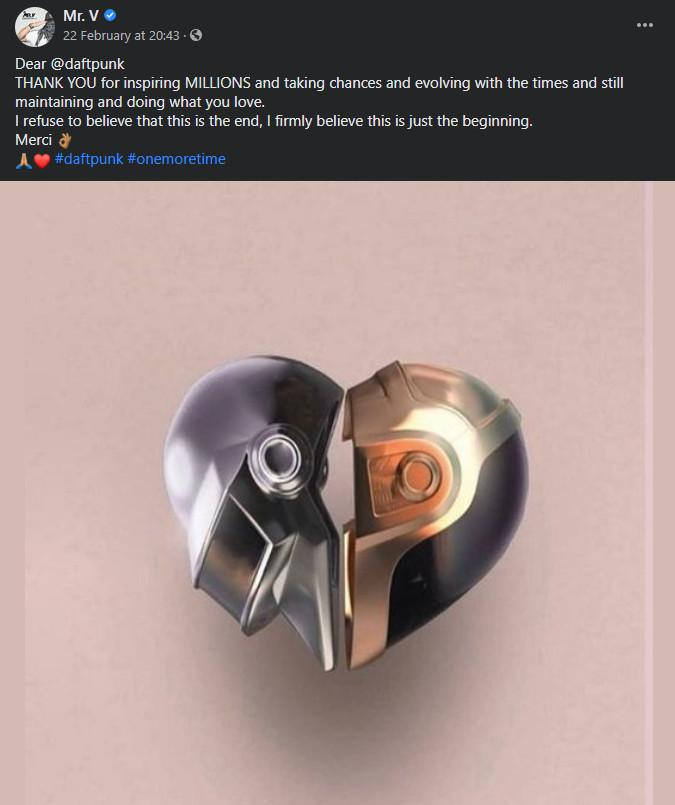 Daft Punk Album Sales Soar By 2,650%