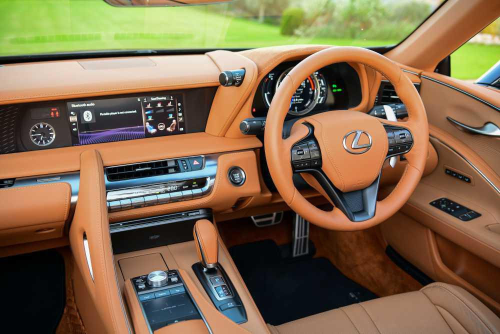 The first Lexus LC Convertible