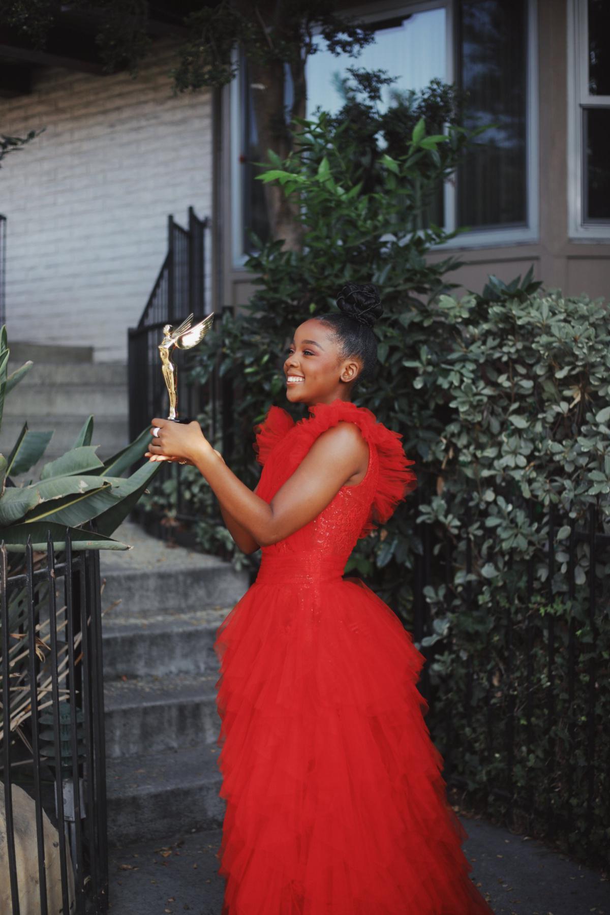 Congratulations To Actress Thuso Mbedu For Winning An International Award