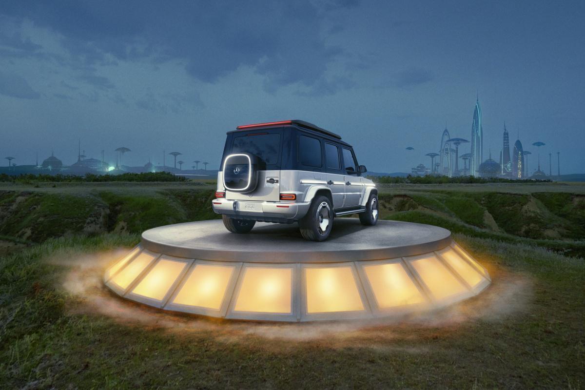 Mercedes-Benz introduces Electric G-Class concept
