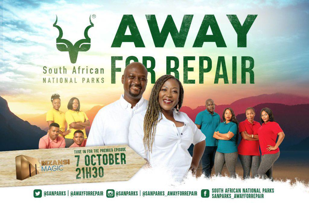 Rami Chuene will be hosting a new reality series 'Away For Repair'.