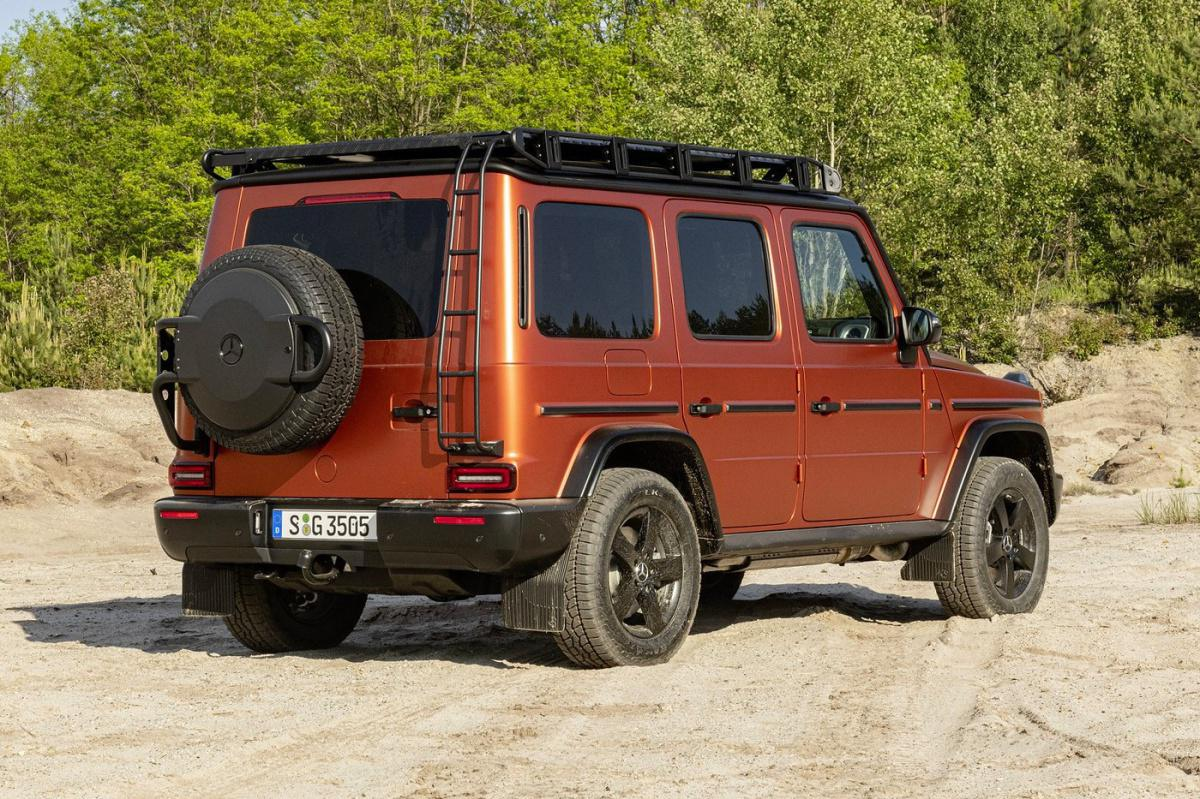 Mercedes-Benz has just unveiled its more off-road-inclined trim of the 2022 G-Class
