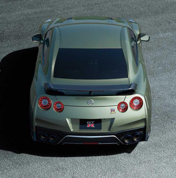 New Nissan GT-R unveiled