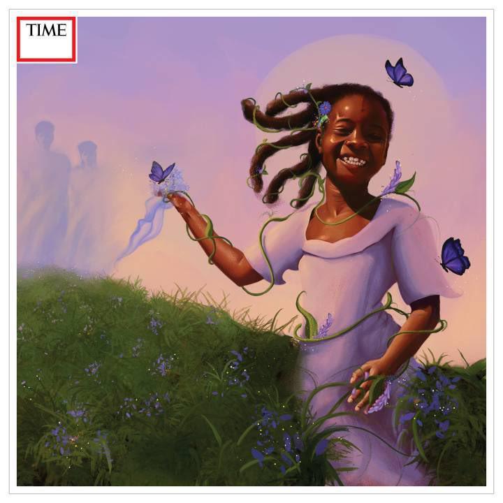 Lethabo Huma is on iconic TIME magazine