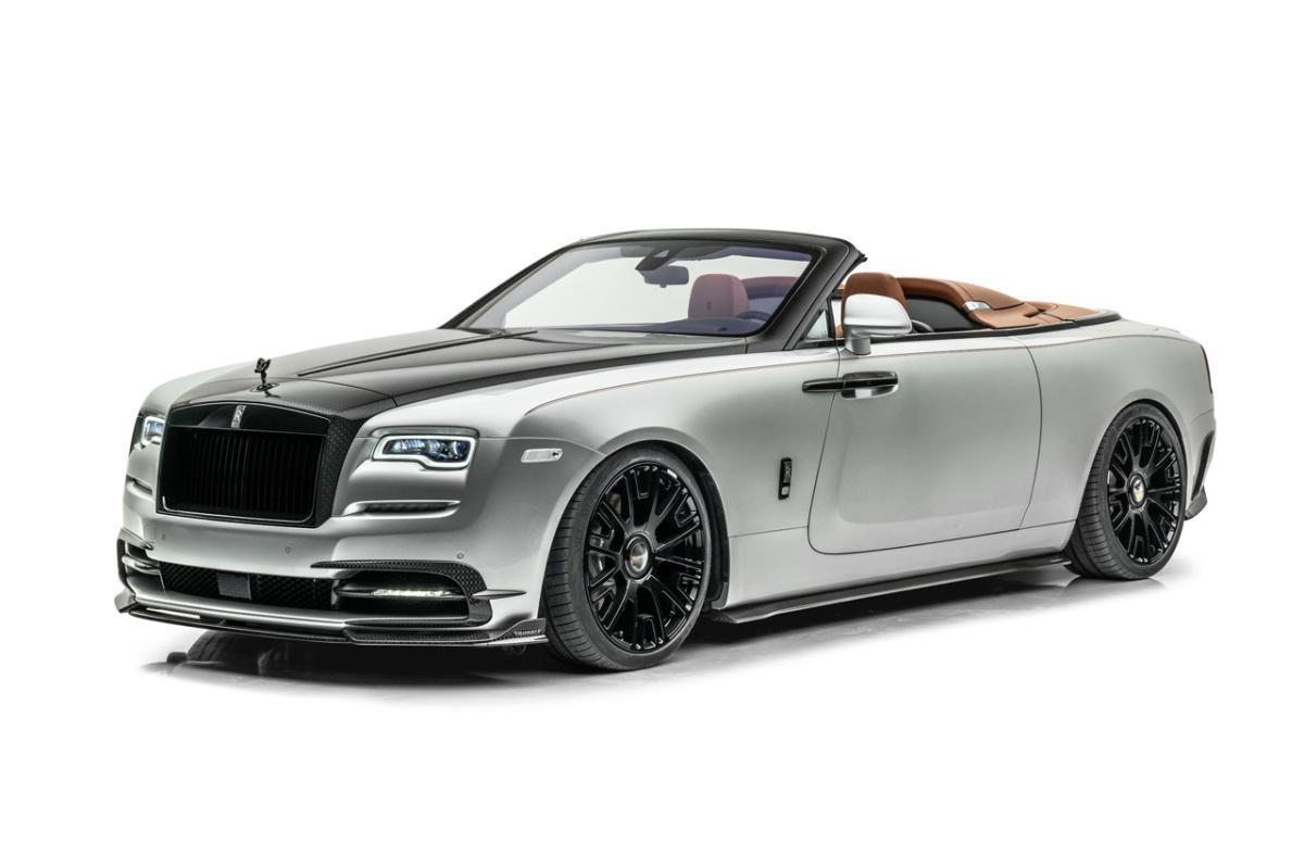 """Mansory's Rolls-Royce Dawn """"Silver Bullet"""""""