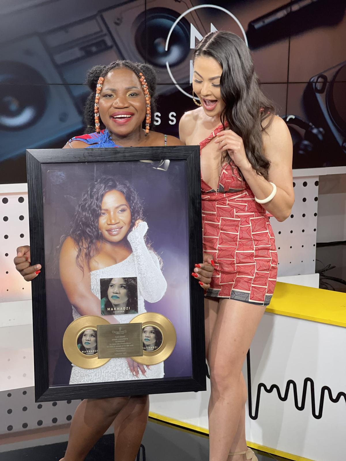 Makhadzi album, 'Kokovha' has reached Gold status
