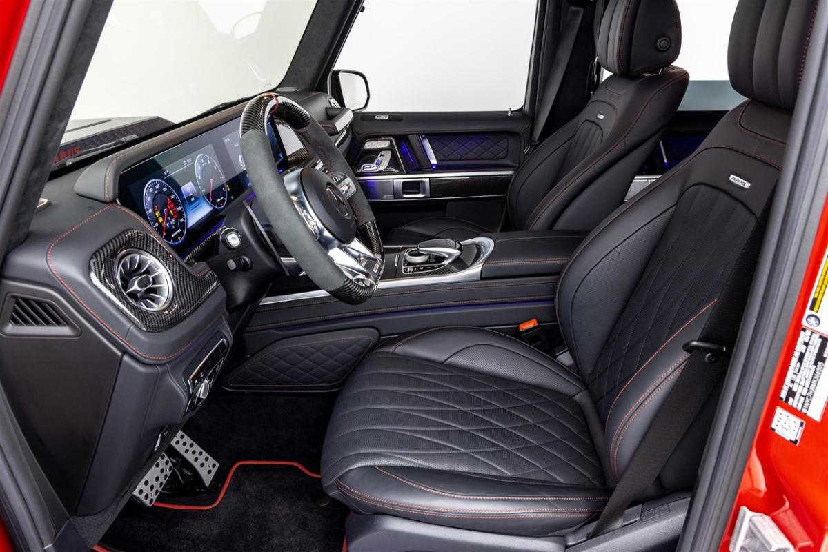 Custom Mercedes-AMG G63 Brabus 800 Widestar