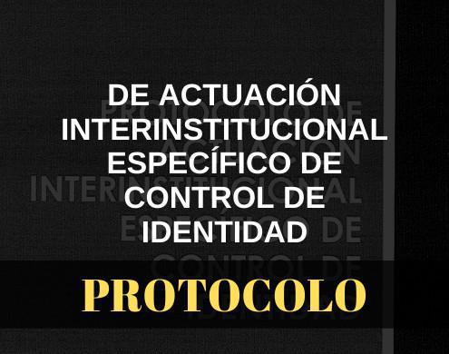 Actuación interinstitucional específico de control de identidad