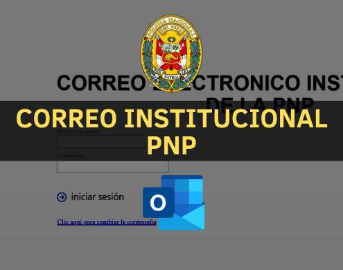 Correo Institucional PNP