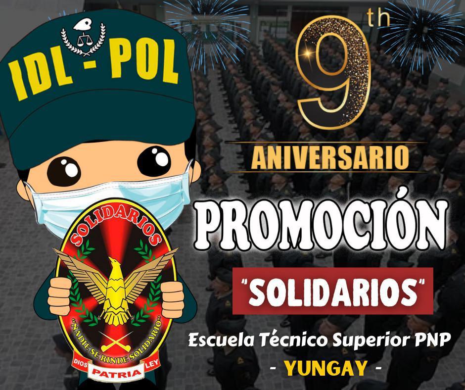 Feliz Aniversario promoción SOLIDARIOS - Yungay