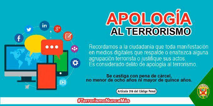 ¿Qué hacer con la apología terrorista por internet?