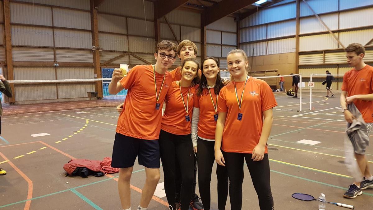 Championnat régional de badminton : les élèves de St Paul encore bien classés !