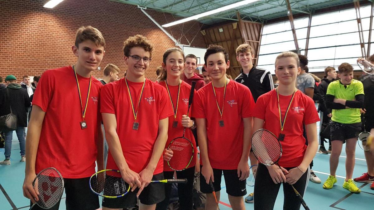 De bons résultats au championnat départemental de badminton