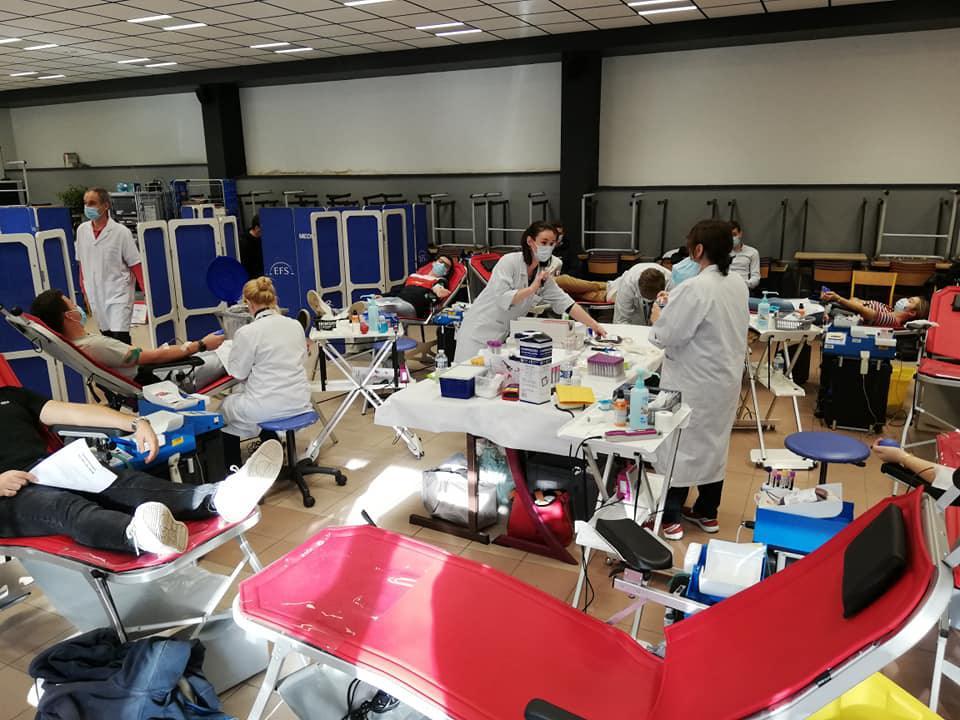 De nombreux primo-donneurs pour le don du sang sur le Campus