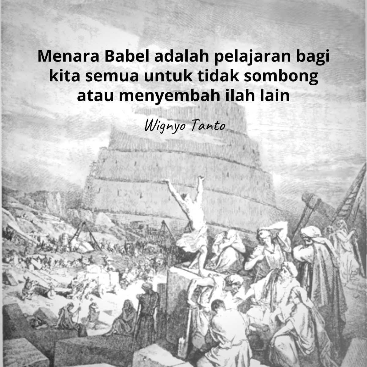 Menara Babel (Terjadinya Bangsa2 dan Bahasa2)
