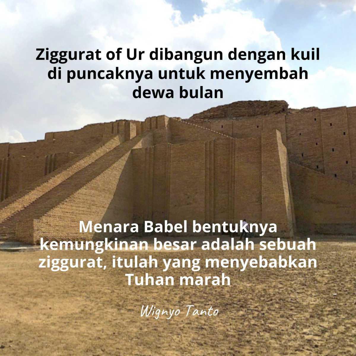 Ziggurat - Penyembahan Berhala