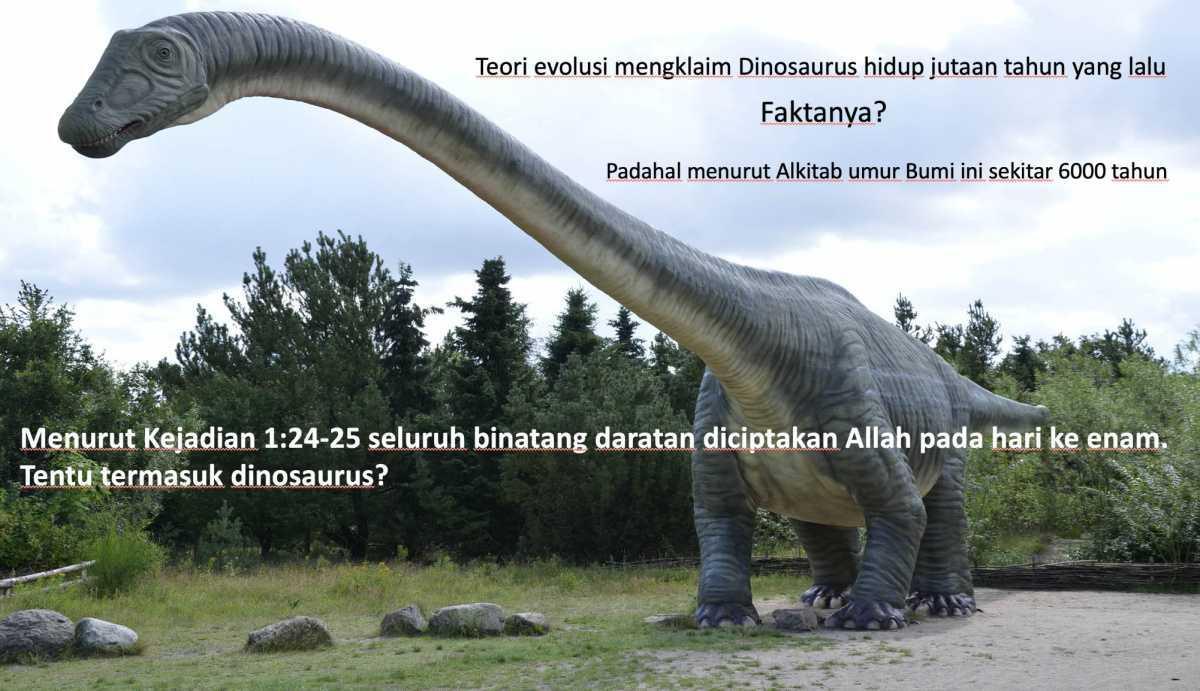 Kapan Dinosaurus Diciptakan?
