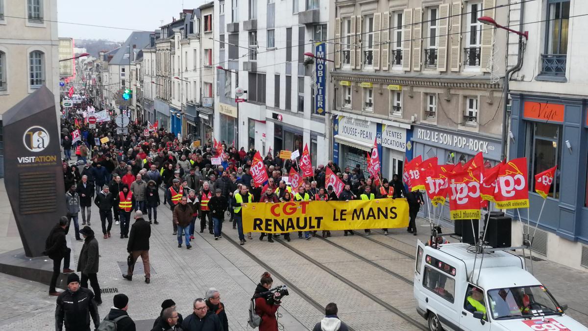 Le Mans : nouvelle journée de mobilisation nationale et interprofessionnelle le mardi 10 décembre