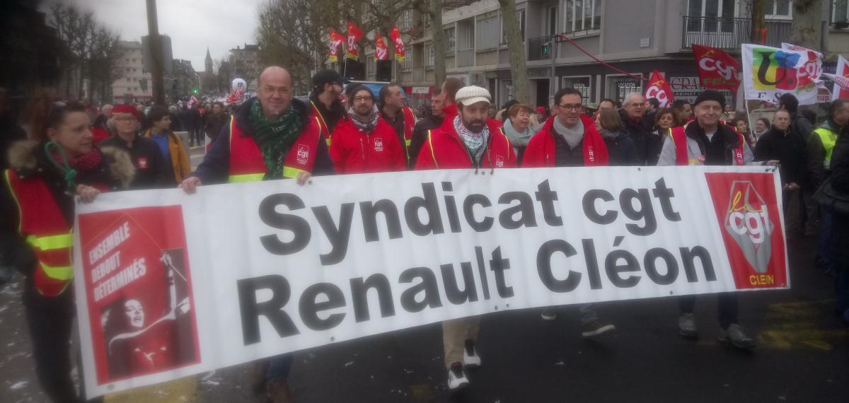 Cléon : après la grève historique partout en France le 5 décembre, amplifions le mouvement le 10 décembre !