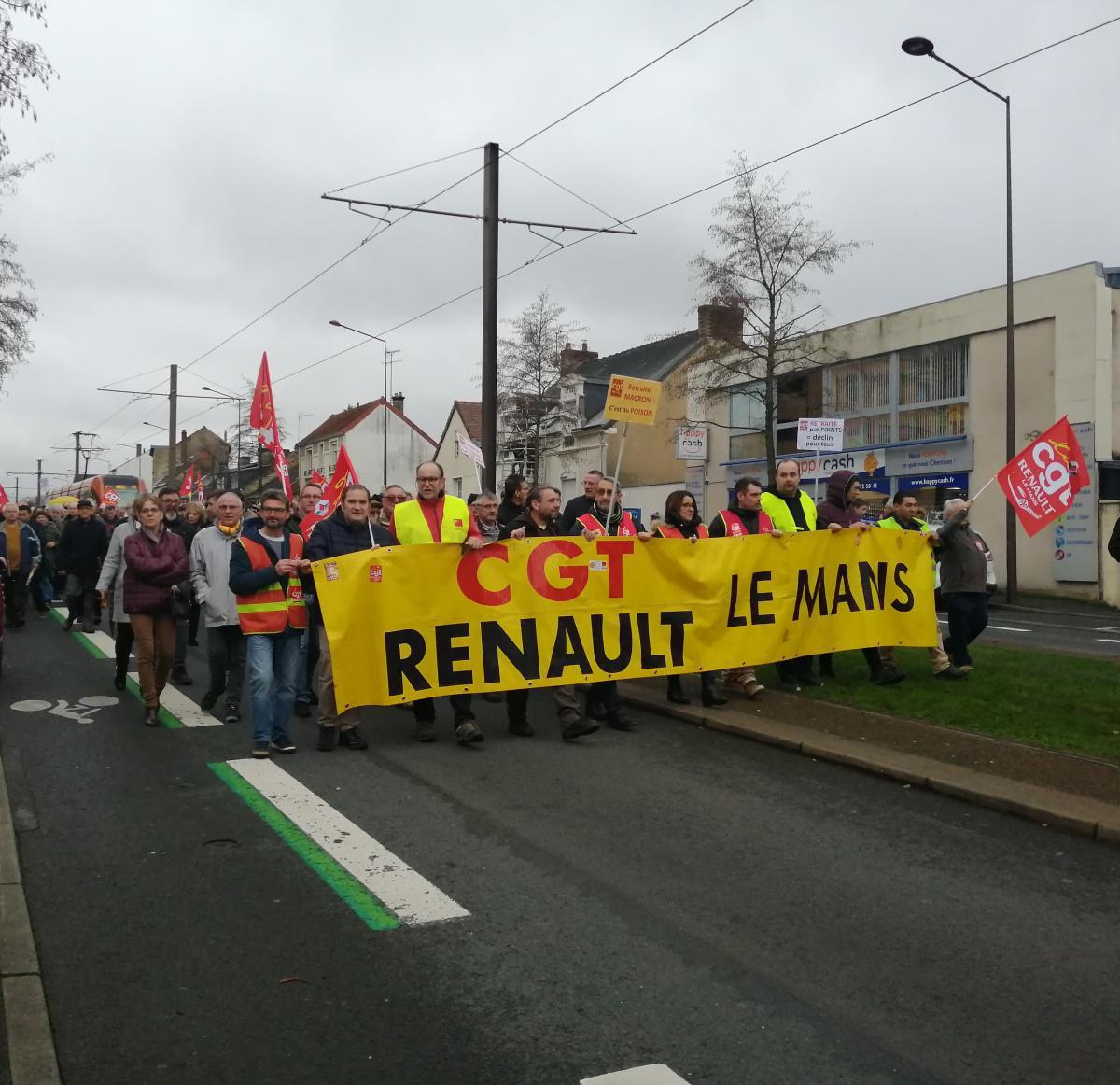 Le Mans : les salarié(e)s de Renault sont-ils des privilégiés ?