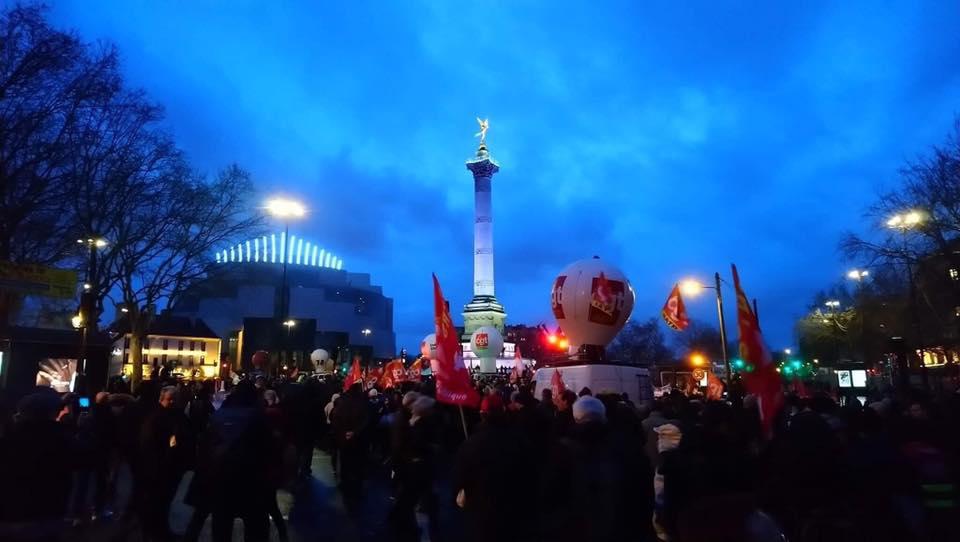 Technocentre : appel à la mobilisation le 9 janvier contre la réforme des retraites