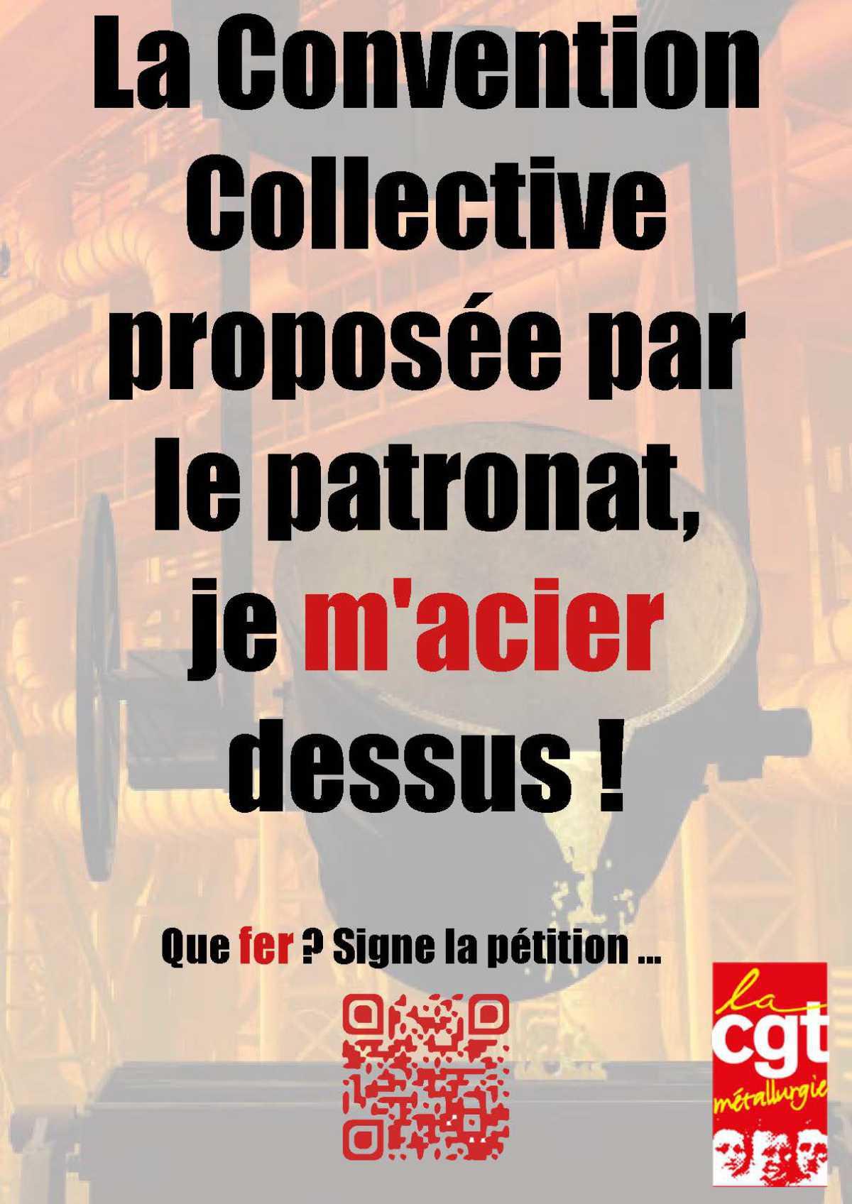 Le Mans : Pour nos droits dans la branche métallurgie, signons massivement la pétition !