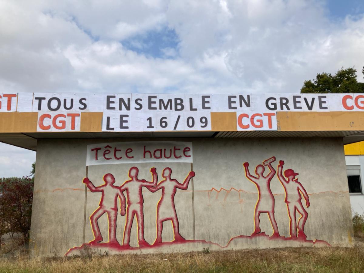 Flash info mobilisation aux Fonderies du Poitou