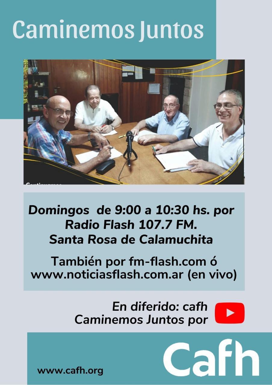 Programa de Radio Caminemos Juntos | Cafh Córdoba - Argentina