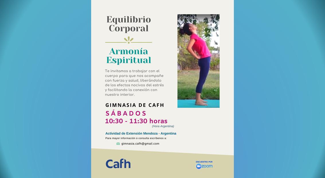 Equilibrio Corporal   Cafh Mendonza - Argentina