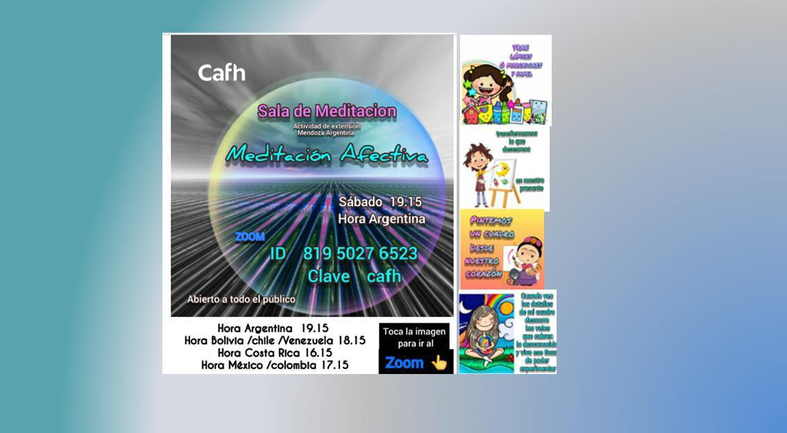 Sala de Meditación   Cafh Mendoza - Argentina