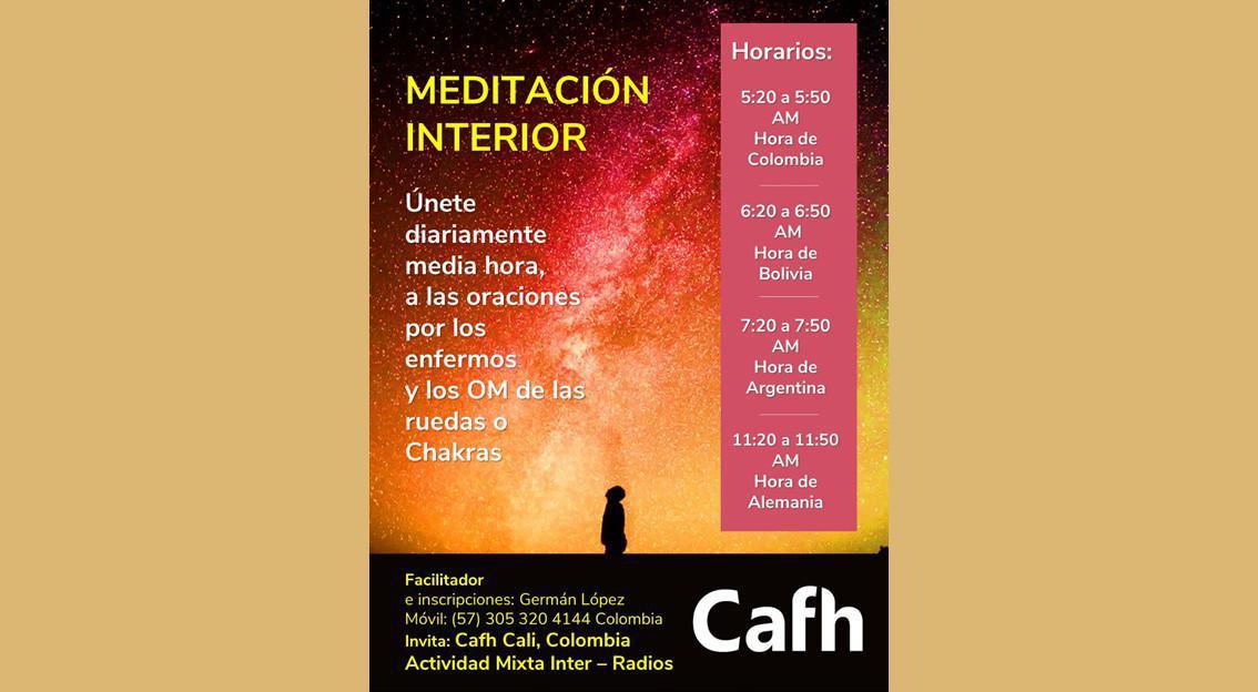 Meditación Interior | Cafh Cali, Colombia