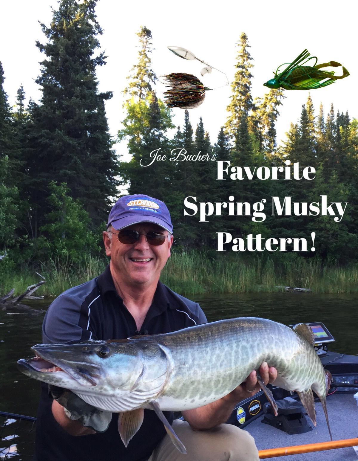 Joe's Favorite Spring Musky Pattern