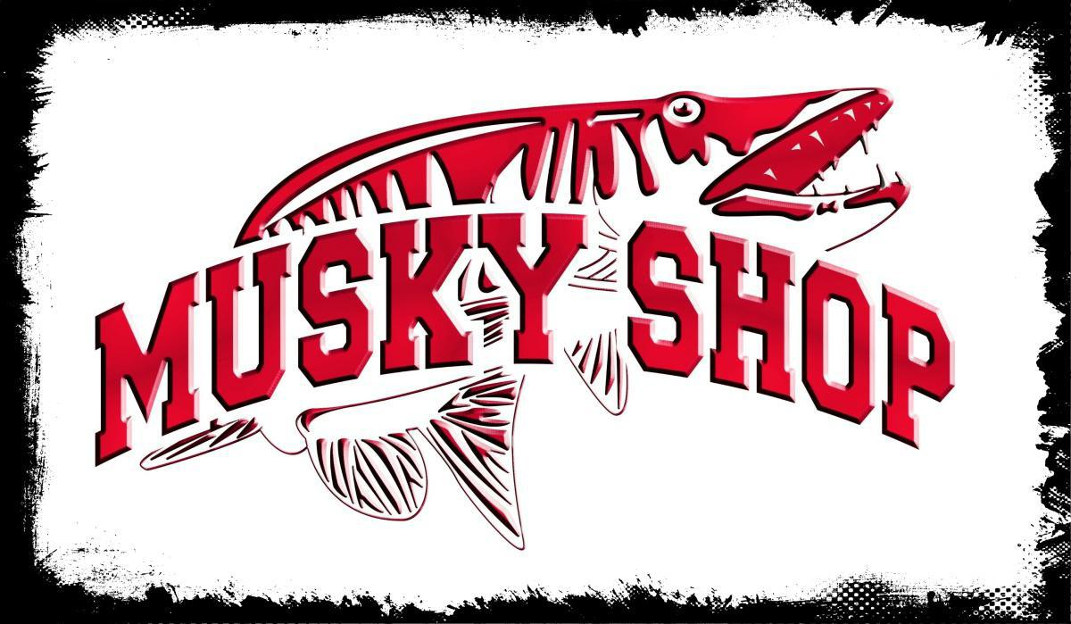 Musky Fishing Wisconsin : Red October Tubes