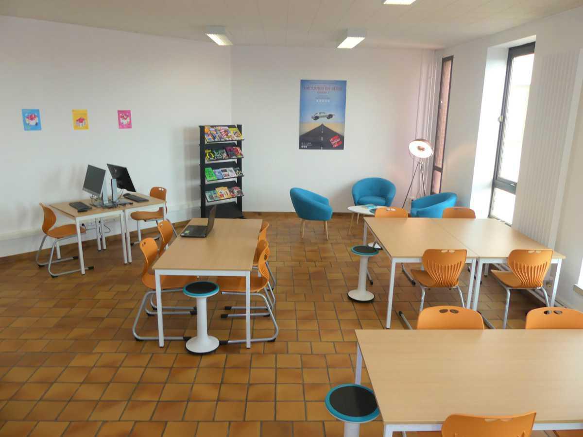 Nouvel espace jeune à la bibliothèque municipale