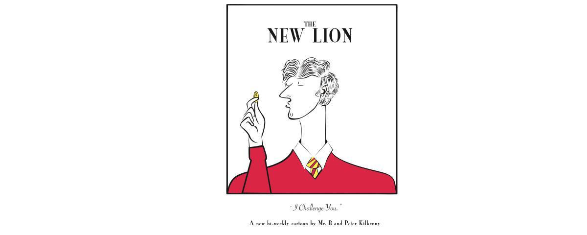 The New Lion Cartoon