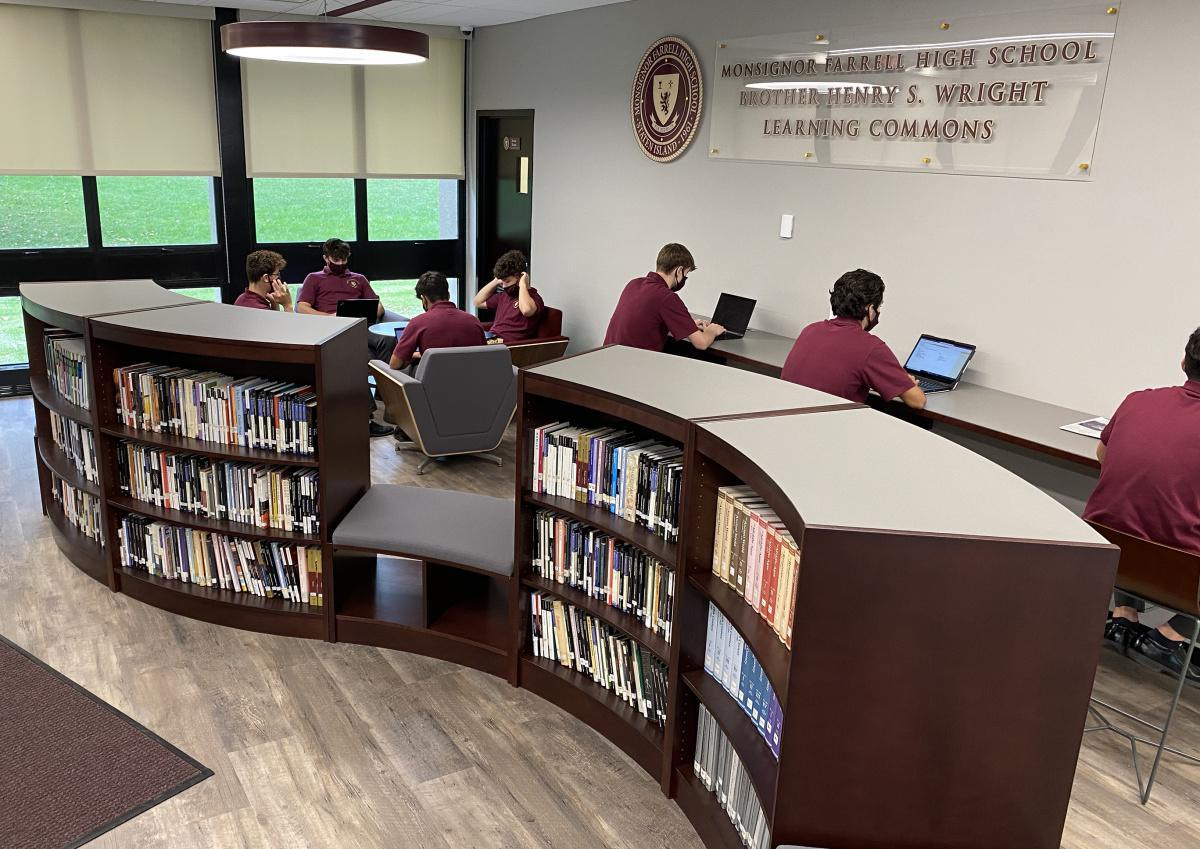 Farrell's Newest Addition: The Brother Henry S. Wright Learning Commons
