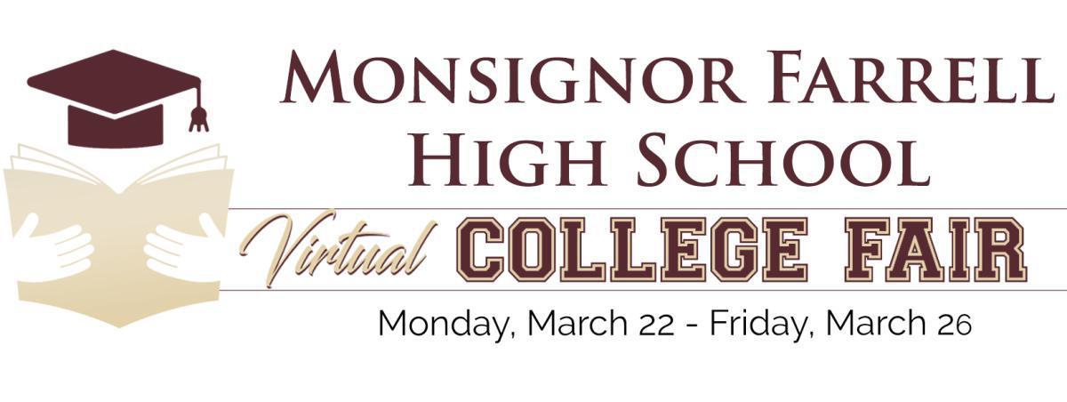 2021 Monsignor Farrell Virtual College Fair