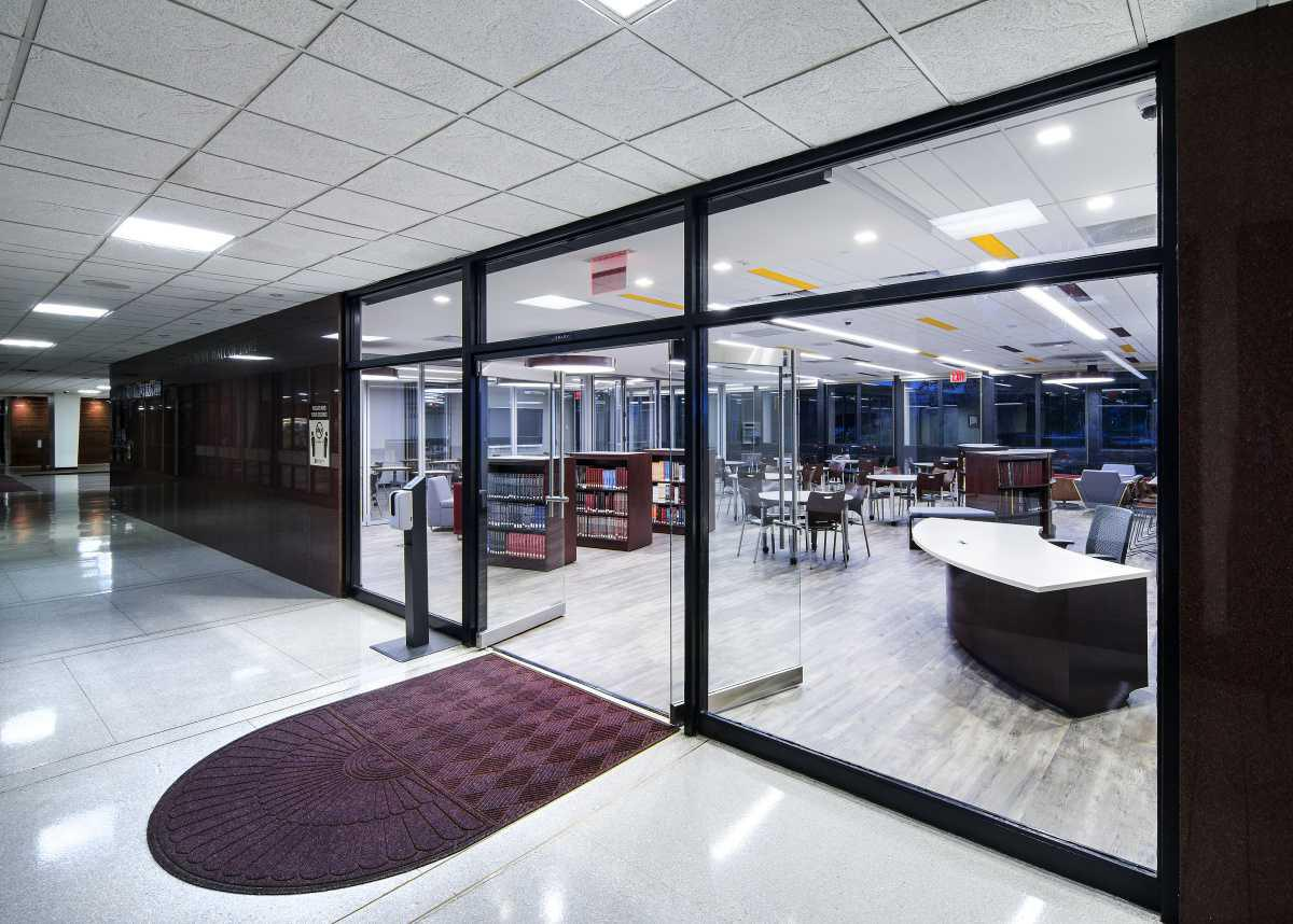 The Brother Henry S. Wright Learning Commons Wins Award