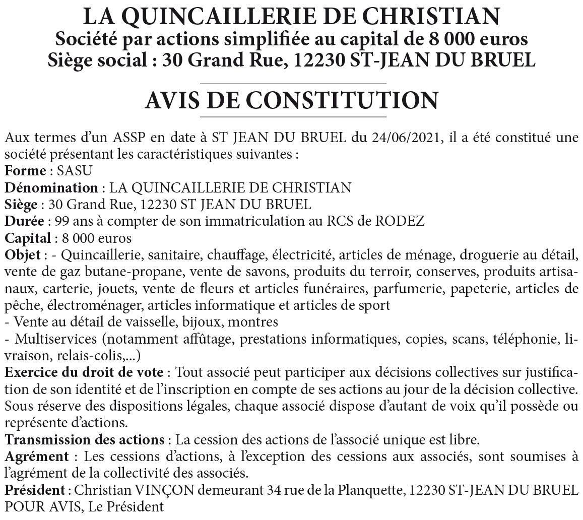 Quincaillerie-de-Christian
