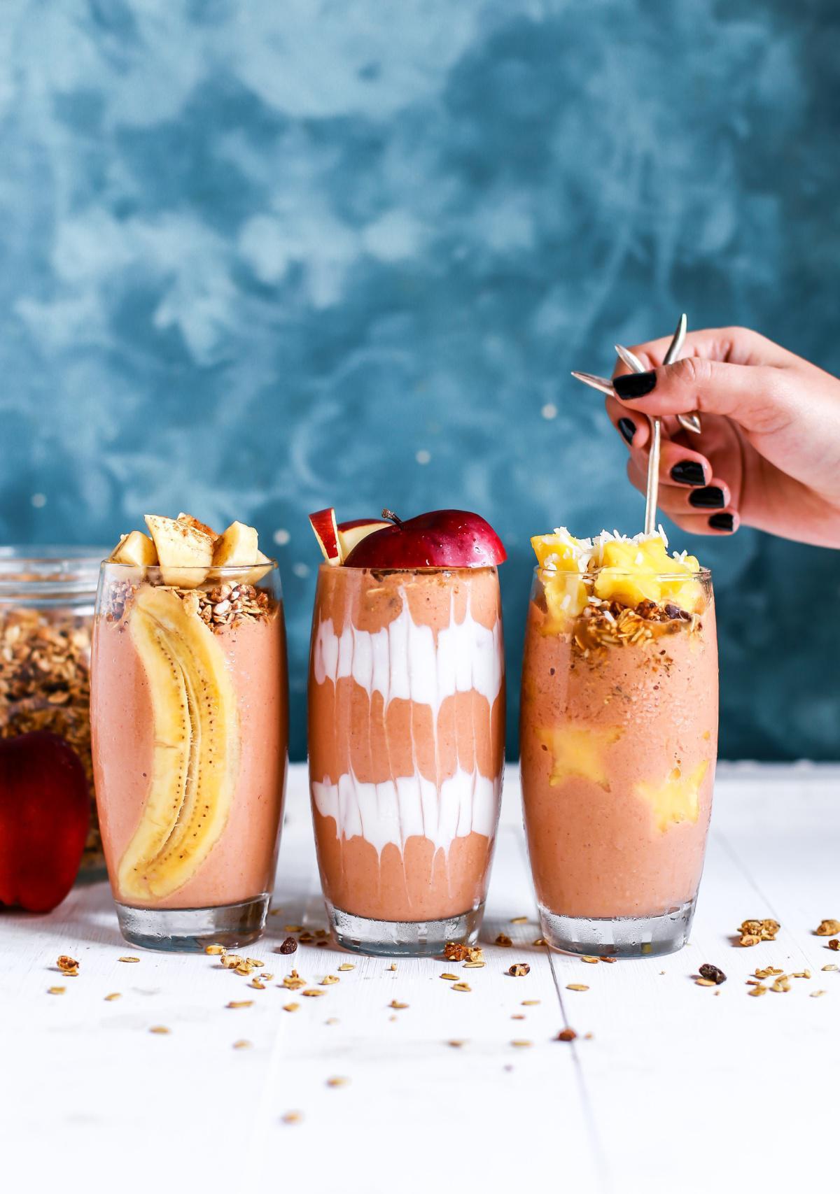 Commandez vos smoothies repas