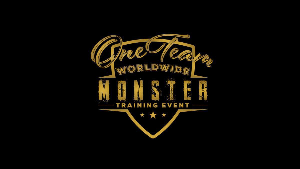 ONE TEAM WORLDWIDE MONSTER TRAINING EVENT V.1