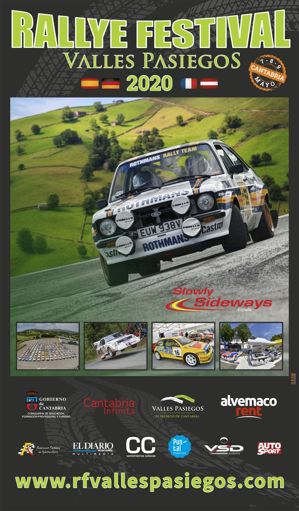 Cartel Rallye Festival Valles Pasiegos